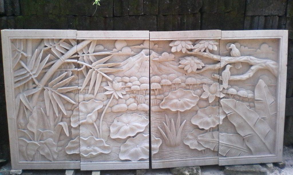 ukiran batu alam