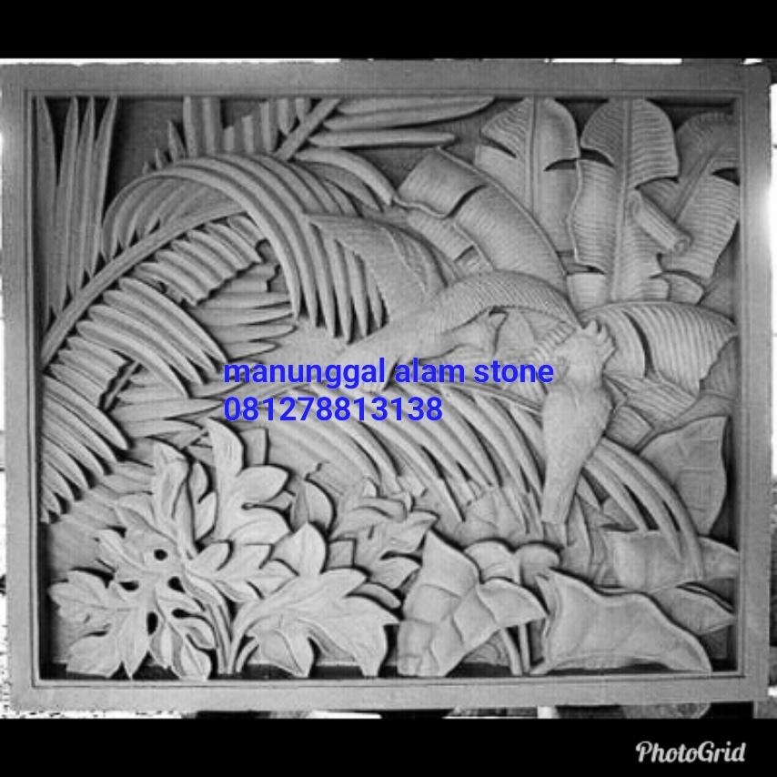 Pengrajin Relief Batu Alam Jogja